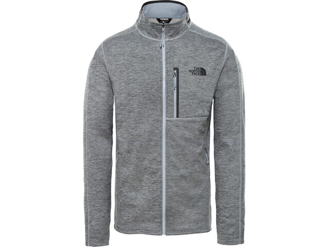The North Face Canyonlands Giacca con zip intera Uomo, tnf medium grey heather